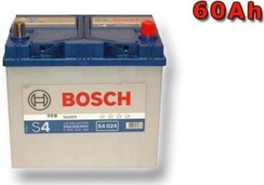 autobaterie 12V  60 Ah BOSCH S4 024