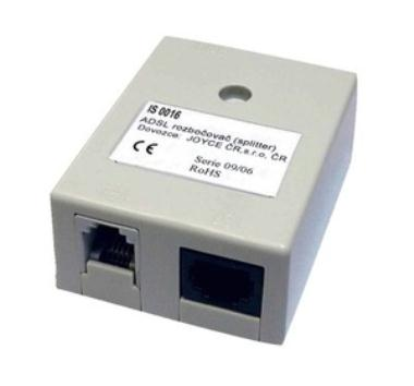 ADSL Splitter IS0023-11, Annex B, 3x RJ-11